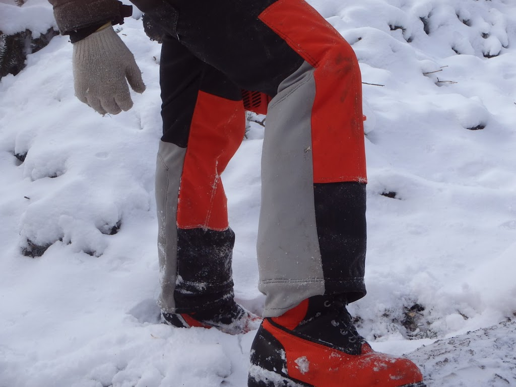 cut proof safety pants and boots