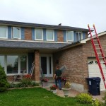 Aluminum Shutters On North York Home